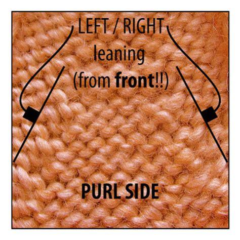 ssp knitting techknitting purl decreases p2tog p2tbl ssp
