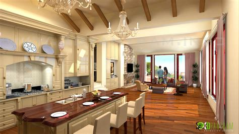 residential kitchen design interior 3d rendering photorealistic cgi design firms by