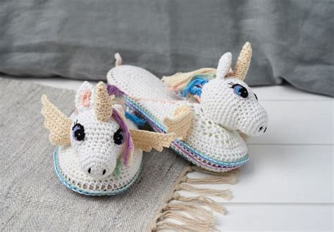 unicorn slippers pattern 38 best crochet unicorn projects images on pinterest