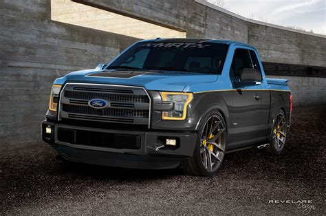 customized truck ford bringing seven customized f 150 to sema 2015