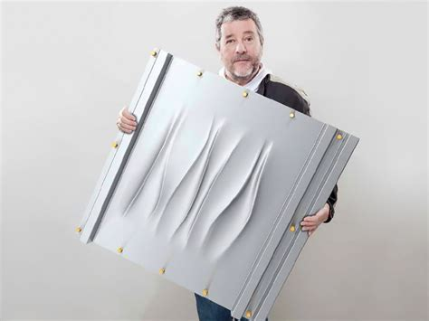 philip starck philippe starck teams up with bacacier for 3s metal cladding system