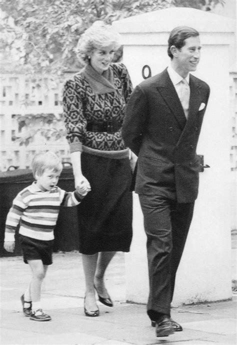 prince william education a look back diana and charles with young will and harry