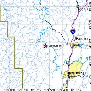 roseburg oregon zip code map umpqua oregon or population data races housing