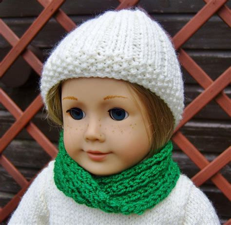 free knitting patterns for american dolls american doll free cowl pattern doll clothes for 18