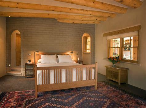 interior design albuquerque adobe home in new mexico southwestern bedroom
