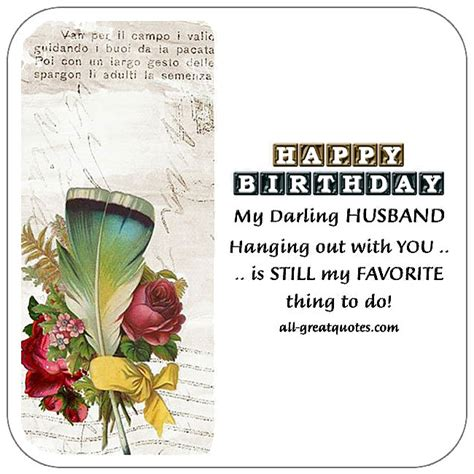 Birthday Greeting Cards For Husband Free