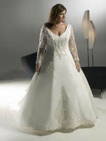 wedding dresses with sleeves plus size plus size wedding dresses 2012
