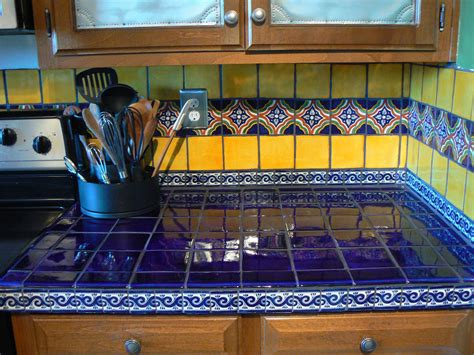 mexican tile kitchen ideas classic mexican kitchens simple home decoration