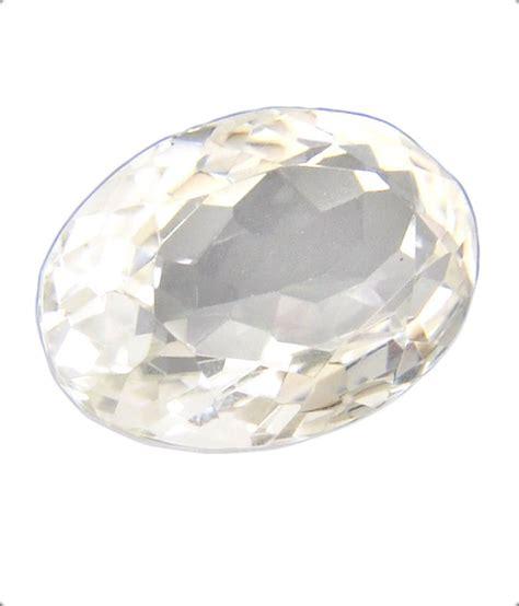 barish gems 28 69ct certified white quartz