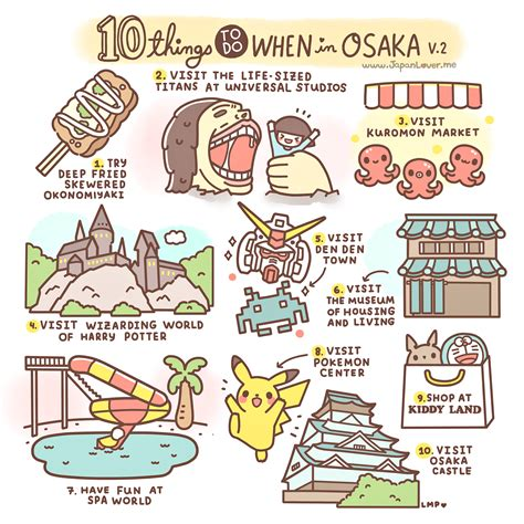japan travel guide 101 coolest things to do in japan tokyo guide kyoto guide osaka hiroshima backpacking japan books 10 things to do when in osaka by japan lover me 2015