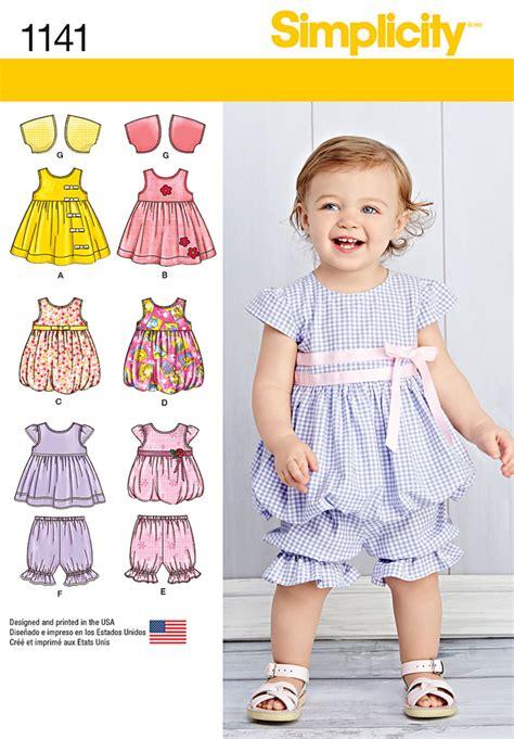 pattern review best patterns 2015 simplicity 1141 babies dresses