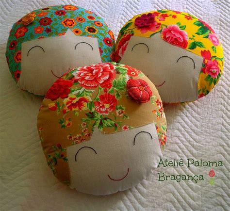 Cushion Doll Pillow Bantal Bantal Karakter Nursery Cushion 6 almofadinhas lindas e mega coloridas para alegrar sua casa by bragan 231 a via flickr