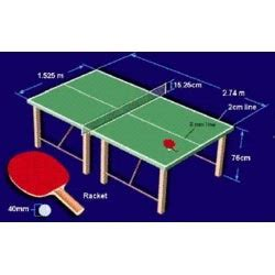 how big is a table tennis table ping pong table height standard brokeasshome com