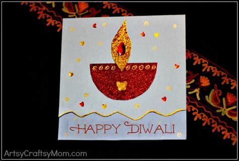 diwali cards to make diy diwali card idea for artsy craftsy