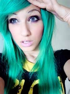 bright hair color mint and marlow