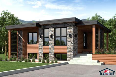 Duplex House Plans With Garage designer zen contemporain lap0504 maison laprise
