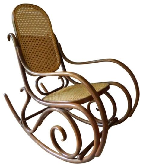 thonet rocking chair eclectic rocking chairs  york  omero