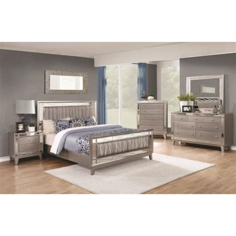 eastern king bedroom sets leighton 4pc eastern king bedroom set