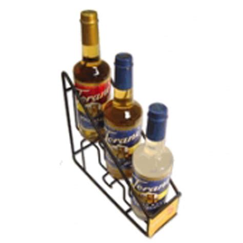 Coffee Syrup Rack by Torani Coffee Syrup Wire Rack 3 750ml Bottle Rack G