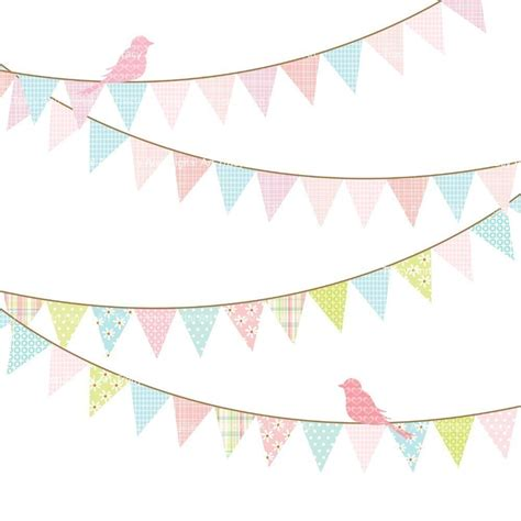 vintage bunting template vintage bunting clip clipart best