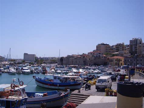 porto creta foto porto di heraklion viaggi vacanze e turismo