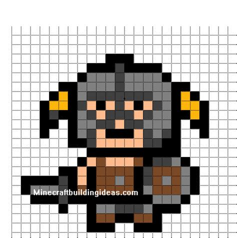 minecraft pixel template minecraft pixel templates skyrim born