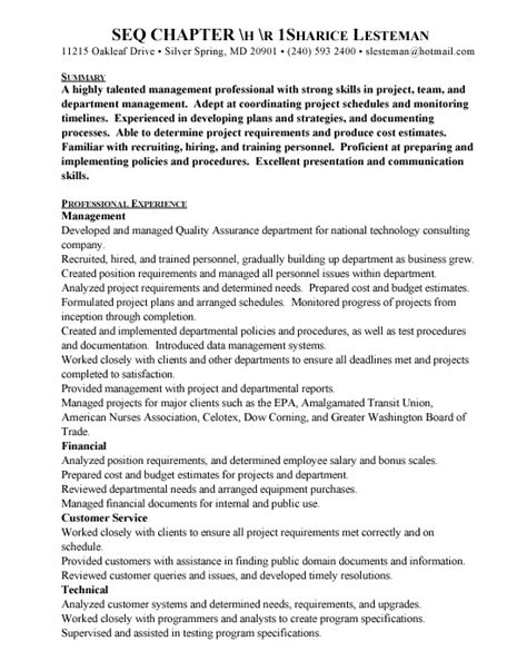Qa Resume by Quality Assurance Manager Resume