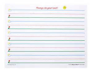 handwriting templates for preschool writing paper for kindergarten reportz60 web fc2