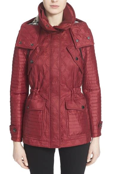 Coat Combi Burberry Terry Diskon lyst burberry brit bosworth quilted jacket in