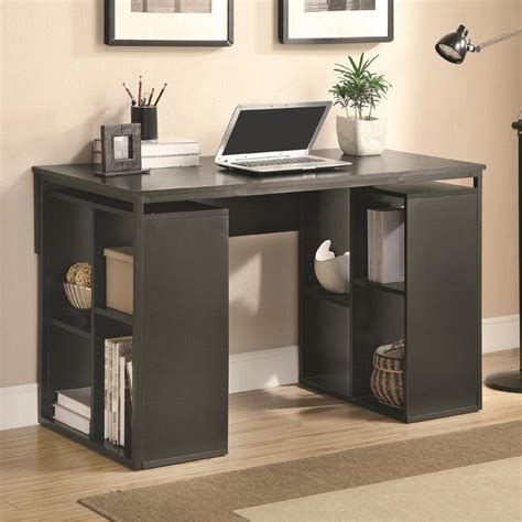 small storage desk small desk with storage whitevan