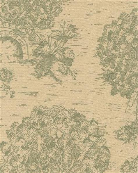 Colonial Upholstery Fabric by Toile Traditional Colonial Provincial Print Heavy