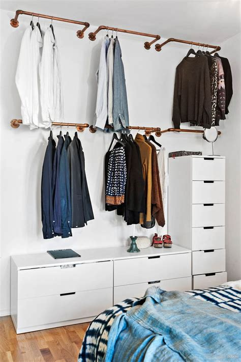 Racks For Hanging Clothes by 25 Best Ideas About Hanging Wardrobe On Open