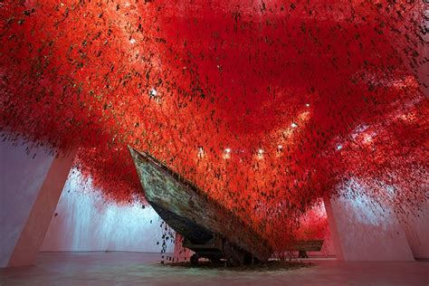 designboom art weaving new worlds designboom speaks to chiharu shiota