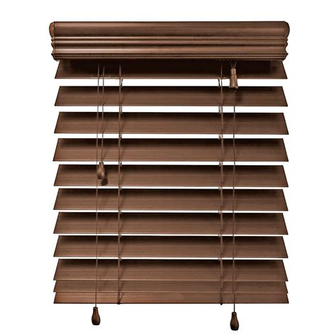 home decorators faux wood blinds home decorators collection 24x72 maple 2 5 inch premium