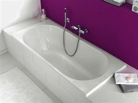 built in bathtub o novo built in bathtub by villeroy boch