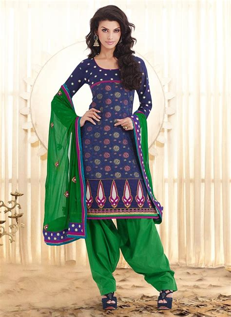 punjabi suits punjabi suits neck design 2014 party wear new fasion