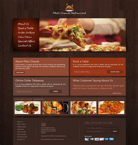 Free Restaurant Website Template Creativegeek Restaurant Template