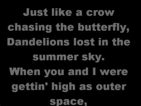 and butterfly lyrics shinedown the and the butterfly lyrics