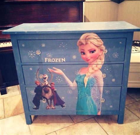 Kids Bedroom Furniture frozen dresser made by maison mint chalk paint frozen elsa