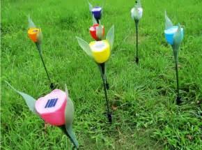 Solar Cell Untuk Lu Taman lu taman bunga tulip solar cell tenaga matahari 502