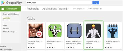 Play Store Ranking La Publicit 233 En Ligne Pour Une Application Mobile Avec