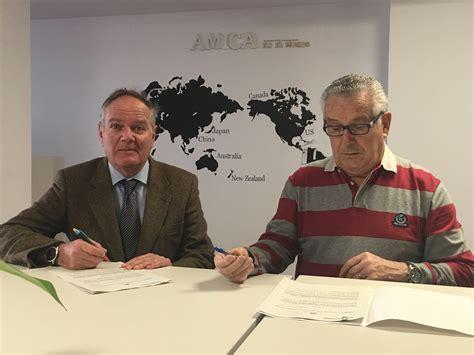 firma amica firmado un convenio de colaboraci 243 n con la fundaci 243 n