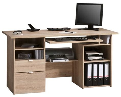 Tesco Computer Desks Buy Maja Kensington Oak Computer Desk From Our Office Desks Tables Range Tesco