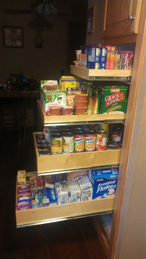 28 best images about pantry pull out shelves on