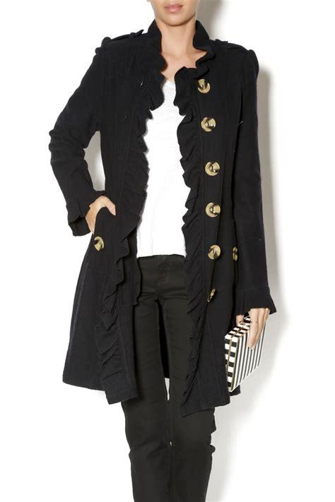 Ruffle Jacket luii black ruffle jacket from massachusetts by seaside