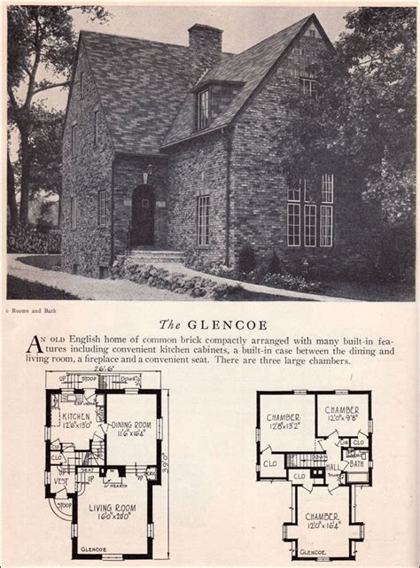 glencoe house plan american residential architecture