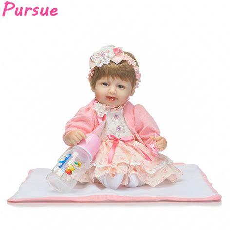 Mainan Anak Perempuan Boneka Anak Bayi Metoo Soft Doll 2 boneka mata biru beli murah boneka mata biru lots from
