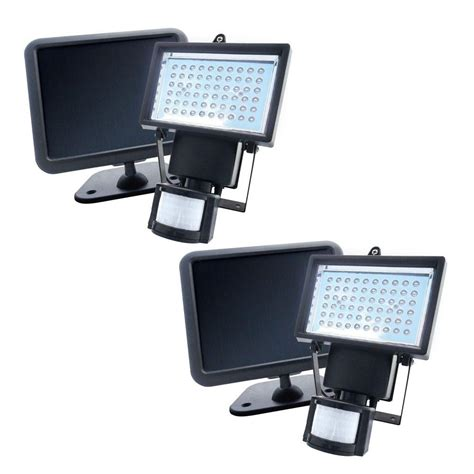 solar powered security lights nature power black solar powered motion activated outdoor