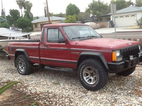 jeep comanche pioneer  manual  sale  san diego