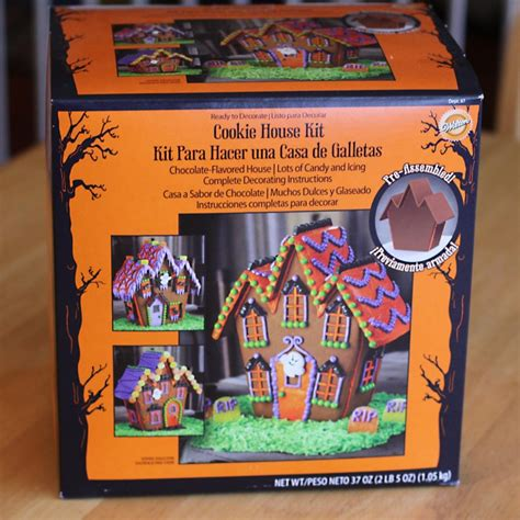 haunted gingerbread house kit haunted halloween cookie house kit from wilton love from the oven